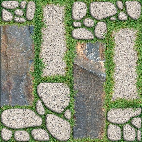 Map gạch sân vườn