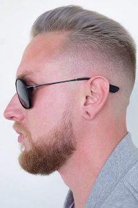 Kiểu tóc mohican mái ngắn