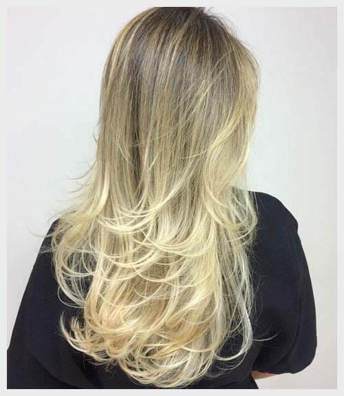Kiểu tóc tỉa layer cho nữ mặt tròn