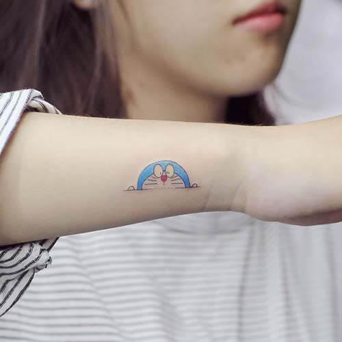 Hinh xam doremon mini