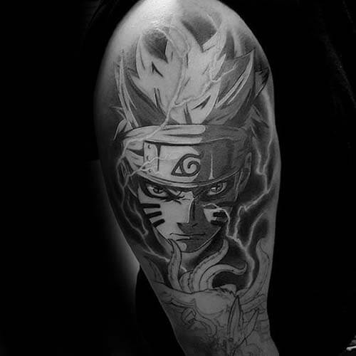 Hình xăm Naruto