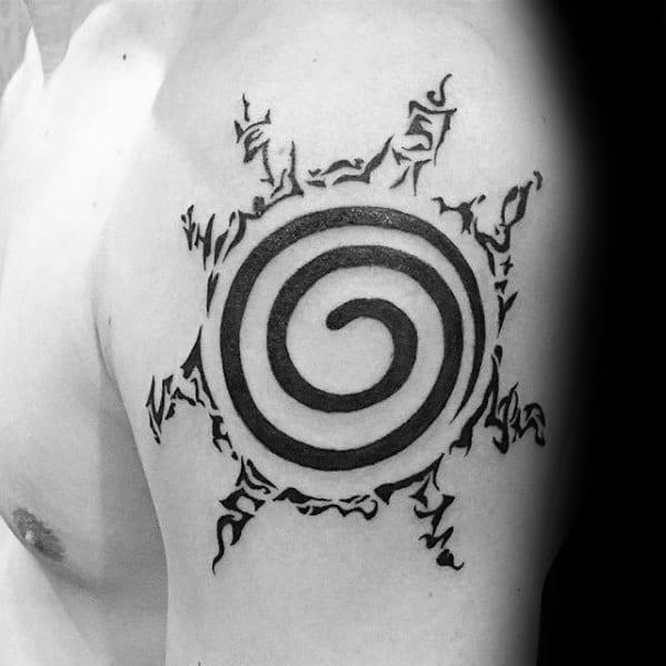 Hình xăm Naruto đẹp