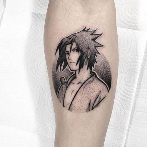 Hình xăm Sasuke