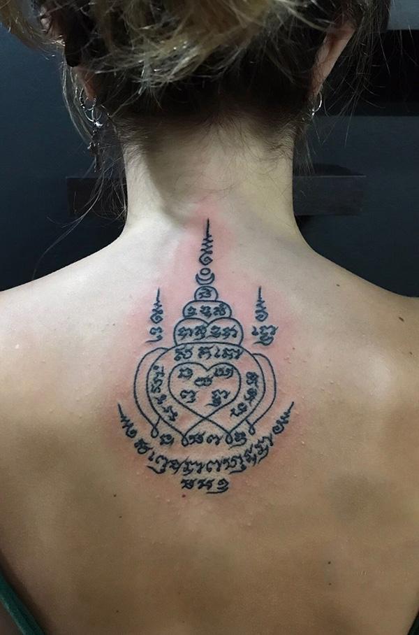 Hình xăm bùa chú Thái Lan