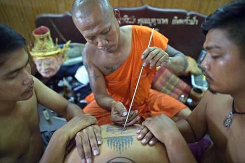 Hình xăm Khmer truyền thống